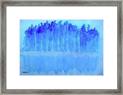 Shivering Timbers Framed Print by Seth Weaver