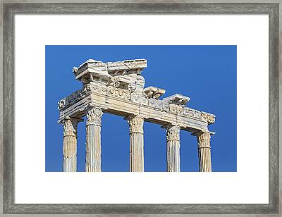 Side - Turkey Framed Print