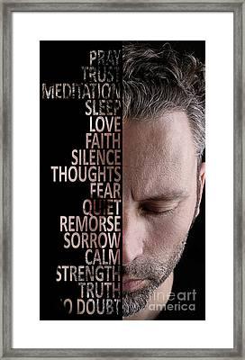 Silence Framed Print by Andreas Berheide