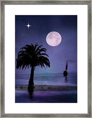Silent Night  Framed Print by Stephanie Laird
