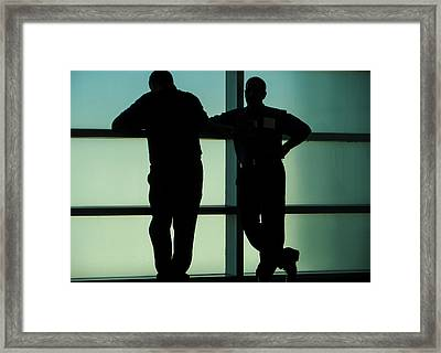 Silhouettes Framed Print by Pepsi Freund