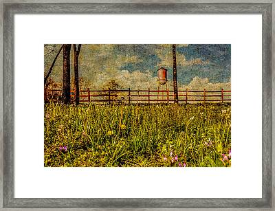 Siluria Cotton Mill Framed Print by Phillip Burrow