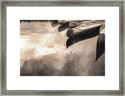 Silver Fish IIi Framed Print