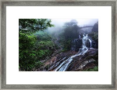 Silver Waterfall - Vietnam Framed Print