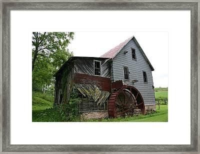 Silverlake Mill Framed Print