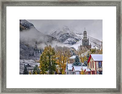 Silverton Colorado Framed Print