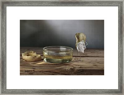 Simple Things - Potatoes Framed Print