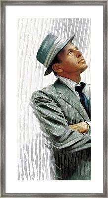 Sinatra Framed Print by James Robinson