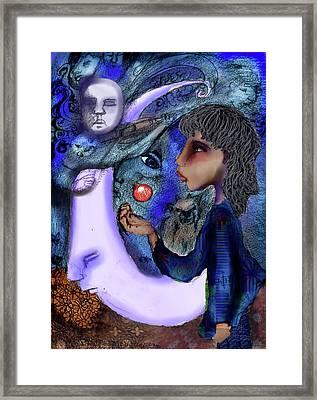 Sing Framed Print by Cynthia Richards