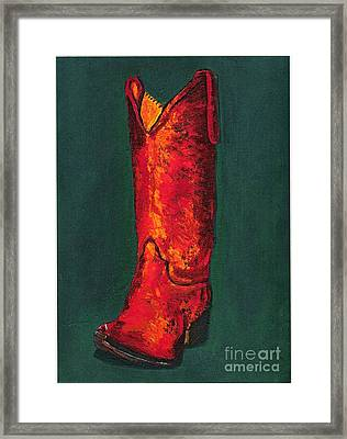 Singled Out Framed Print by Frances Marino