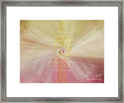 Siphon - Verse Framed Print by Anita Faye