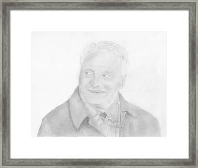 Sir Bobby Robson Framed Print by Chris Hall