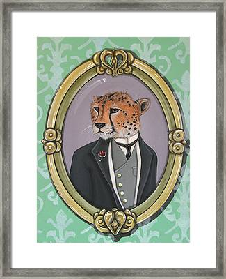 Sir Pettingwise IIi Framed Print by Jude Labuszewski