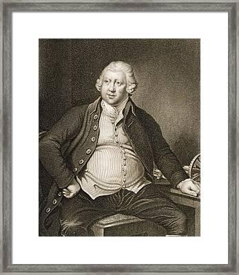 Sir Richard Arkwright 1732 1792 Framed Print by Vintage Design Pics