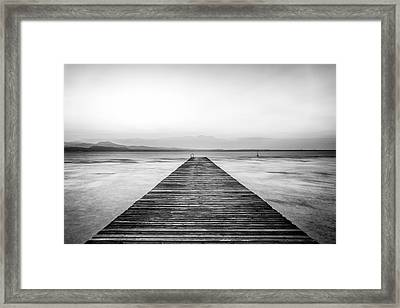 Framed Print featuring the photograph Sirmione by Traven Milovich
