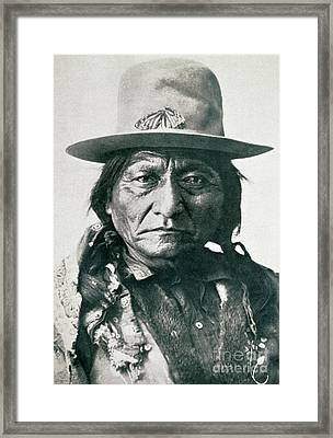 Sitting Bull  Framed Print by American School
