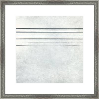 Six Strings Framed Print