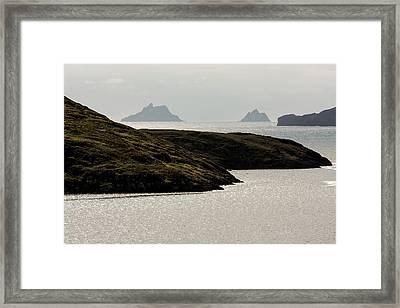 Skellig Islands, County Kerry, Ireland Framed Print