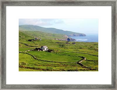 Skellig Ring - Ireland Framed Print