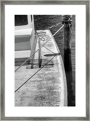 Skiff Framed Print