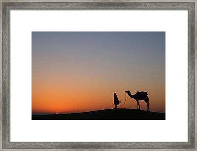 Skn 0866 Just Out Framed Print
