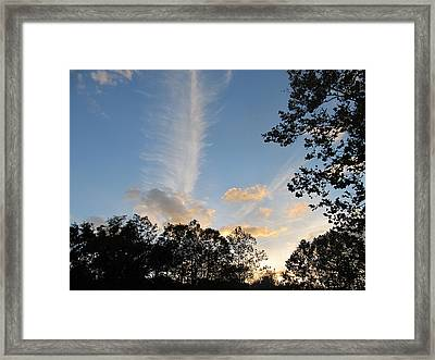Sky Art Framed Print