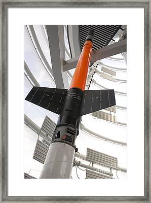 Skylark Sounding Rocket Framed Print by Mark Williamson