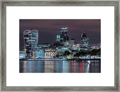 Skyline Of London Framed Print
