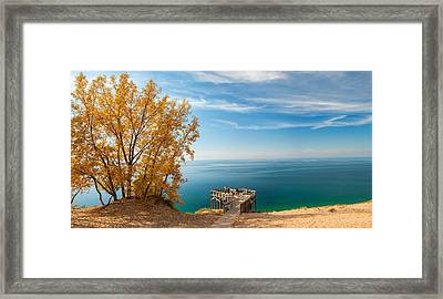 Sleeping Bear Overlook Framed Print