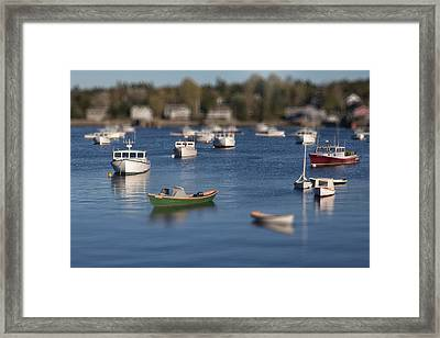 Sleeping Boats Framed Print by Jon Glaser