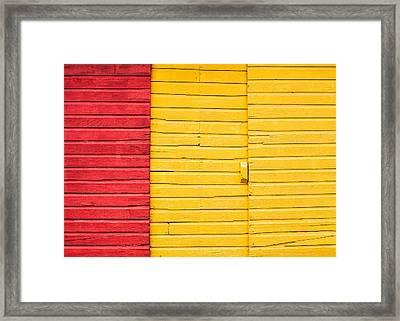 Sliding Doors Framed Print by Todd Klassy