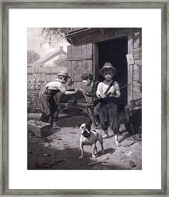 Slim Finnegan Framed Print