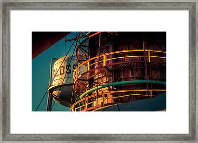 Sloss Furnaces Framed Print by Phillip Burrow