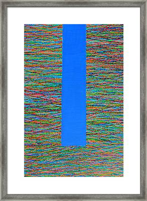 Small Door Framed Print by Kyung Hee Hogg