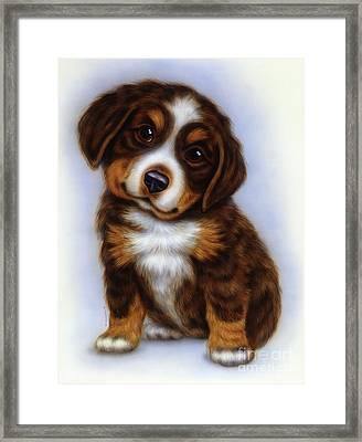 Small Puppy 10 Framed Print
