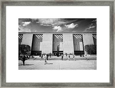 smithsonian national museum of american history building Washington DC USA Framed Print