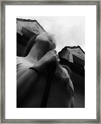 Smoke Framed Print by Anton Ishmurzin