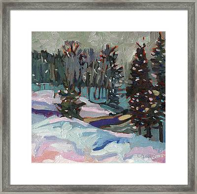 Snow Day Framed Print by Phil Chadwick