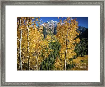 Snowdon Peak Framed Print