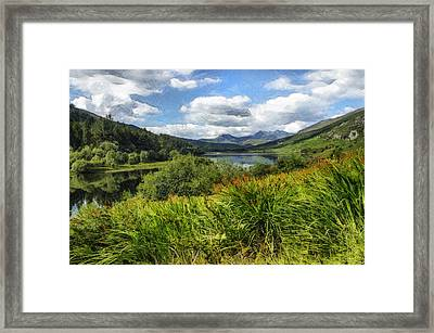 Snowdon View Framed Print by Ian Mitchell