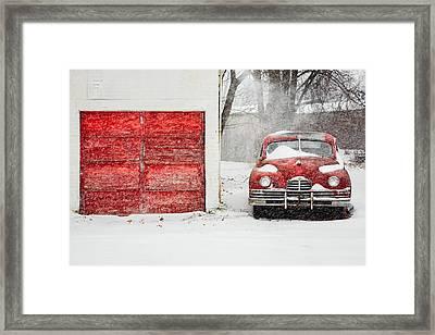 Snowed In Framed Print by Todd Klassy