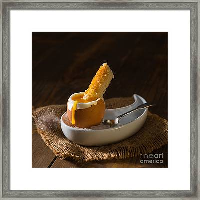 Soft Boiled Egg Framed Print