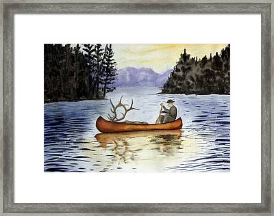 Solitude Framed Print by Jimmy Smith
