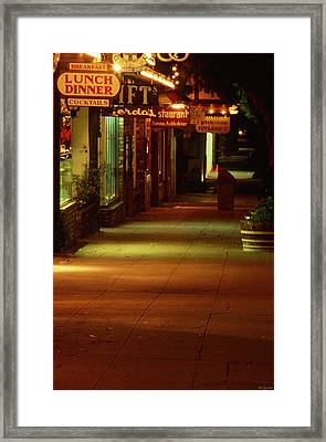 Solvang California Framed Print by Soli Deo Gloria Wilderness And Wildlife Photography