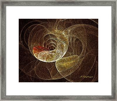 Something Organic Framed Print by Jean Gugliuzza