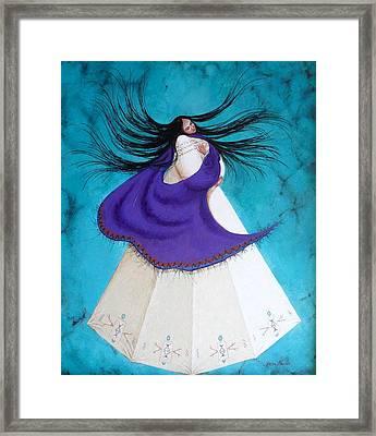 Song Of My Heart Framed Print by Karen Roncari