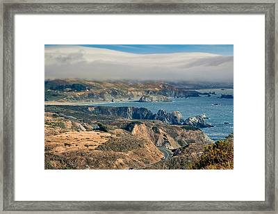 Framed Print featuring the photograph Sonoma Coast by Kim Wilson