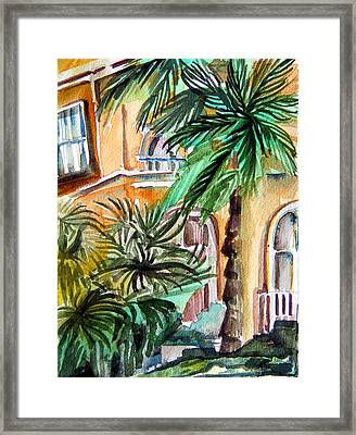 Sorrento Framed Print by Mindy Newman