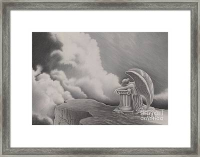 Sorrow Framed Print by Elizabeth Dobbs