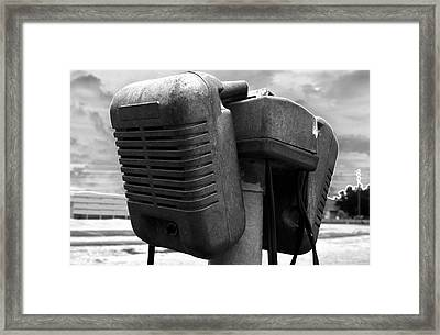 Sounds Of The Fifties Framed Print